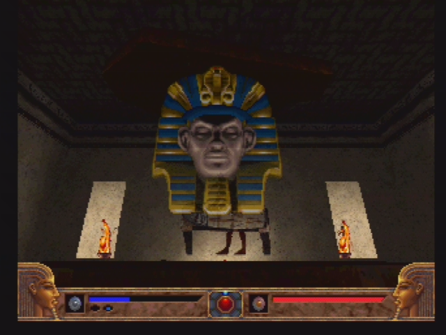 Powerslave PlayStation The Pharaoh wishes to have a word with you.
