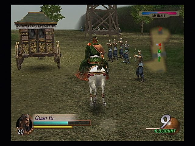 The Escort Review >> Dynasty Warriors 3 Screenshots for PlayStation 2 - MobyGames