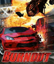 Burnout J2ME Title screen (medium size)
