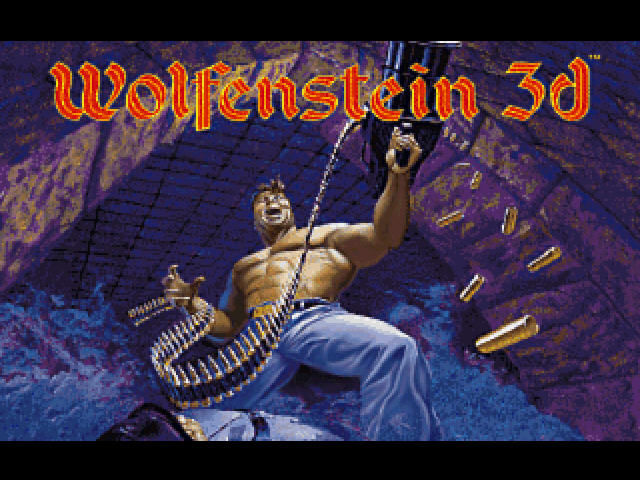 Wolfenstein 3D 3DO Title screen