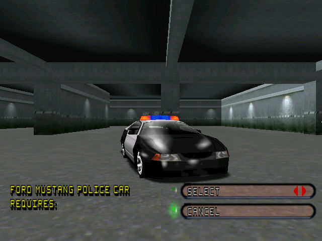 Test Drive 6 Windows You can also choose a cop car to chase other drivers.