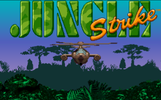 Jungle Strike Amiga Jungle Strike Title