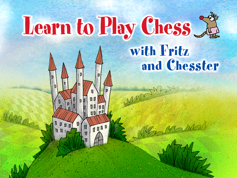 Learn to Play Chess with Fritz & Chesster Windows Title screen