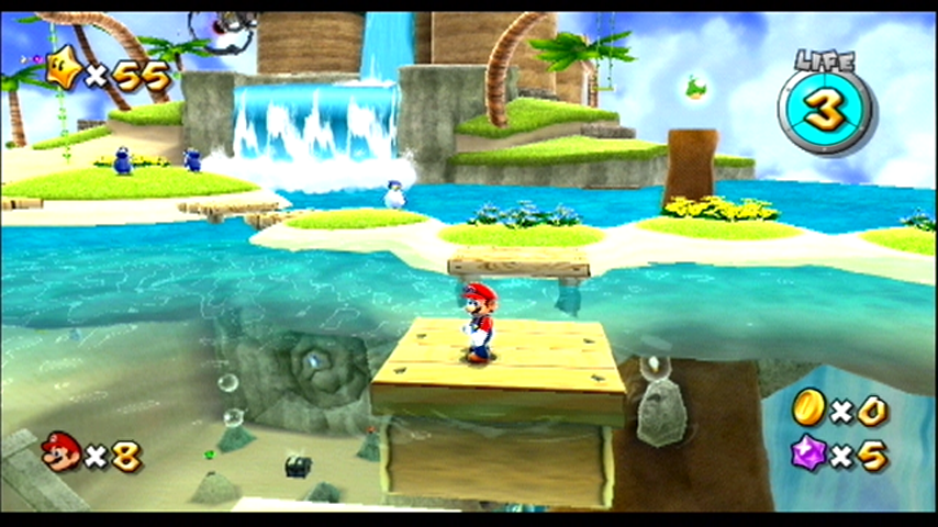 Super Mario Galaxy Wii Welcome to a rather tropical galaxy!