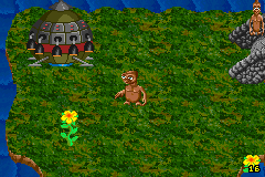 E.T. The Extra-Terrestrial Game Boy Advance Level 1 - gameplay