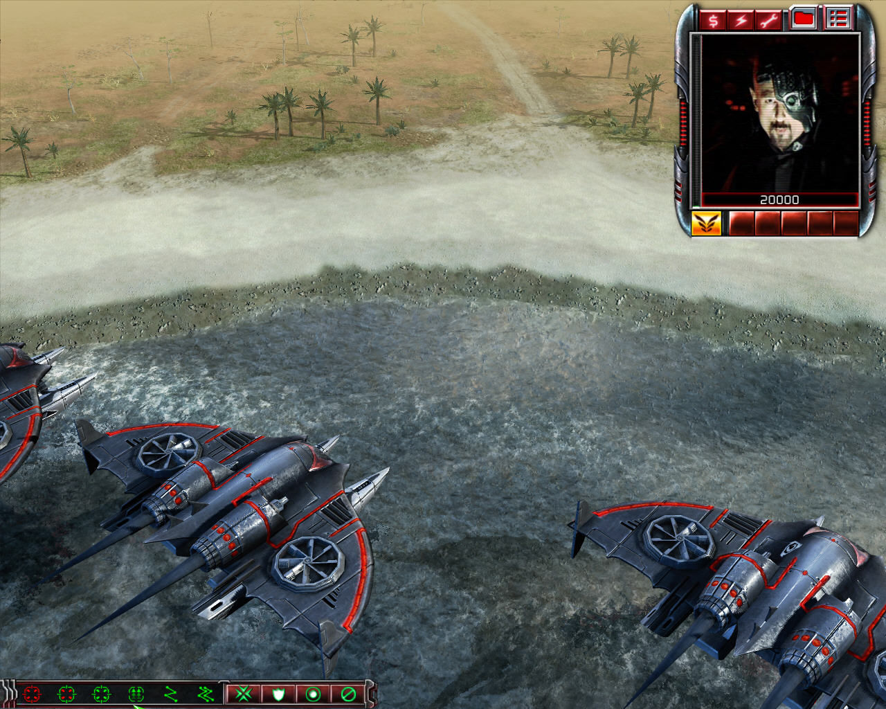 Command & Conquer 3: Kane's Wrath Windows Nod arriving to the beach