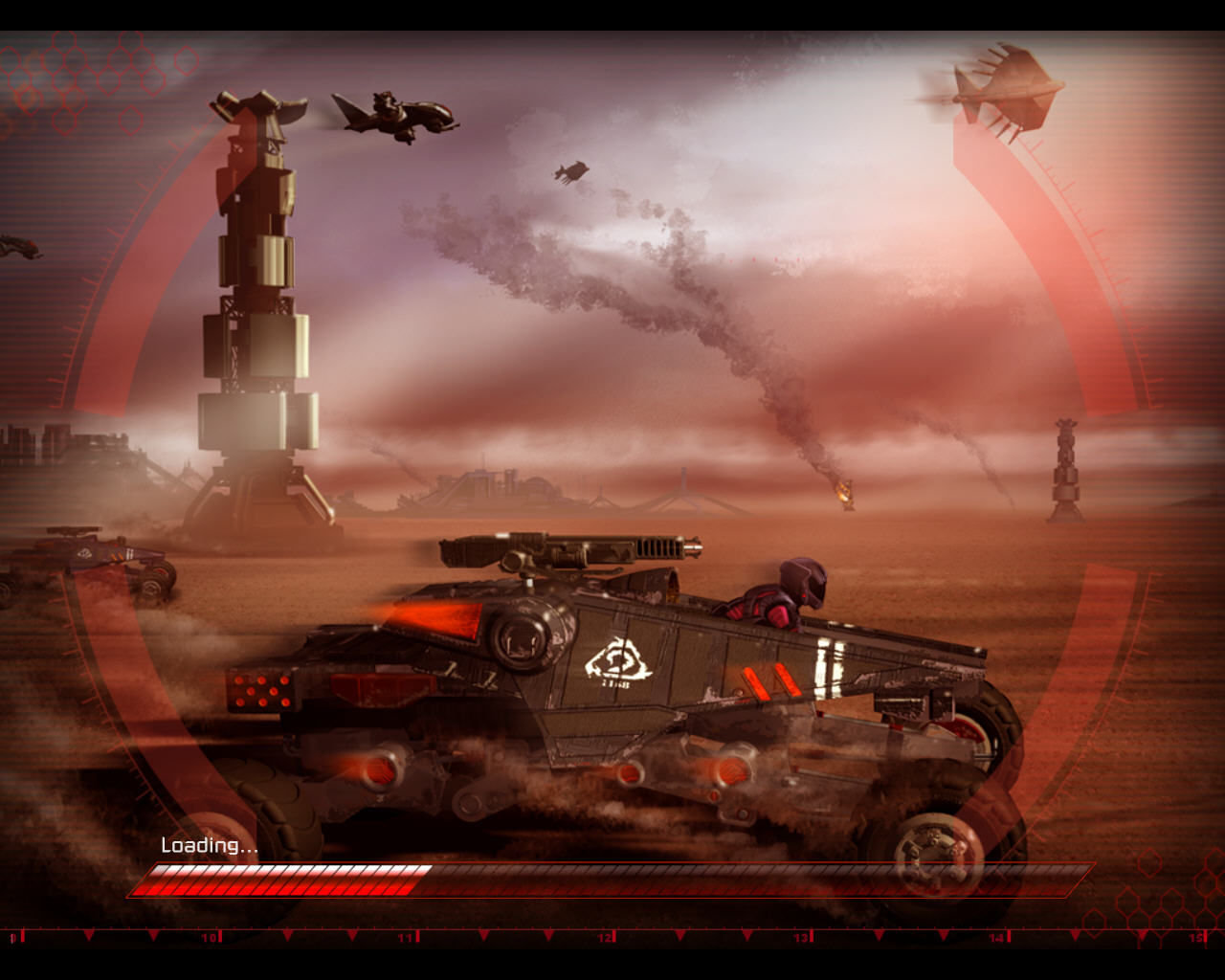 Command & Conquer 3: Kane's Wrath Windows Loading Screen