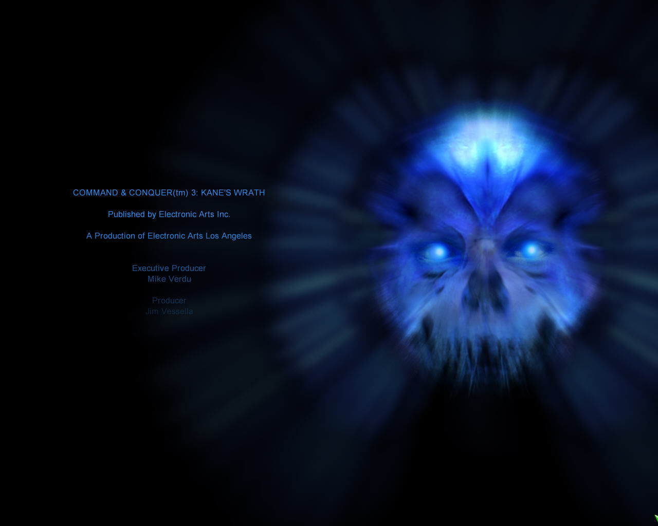 Command & Conquer 3: Kane's Wrath Windows Part of the credits