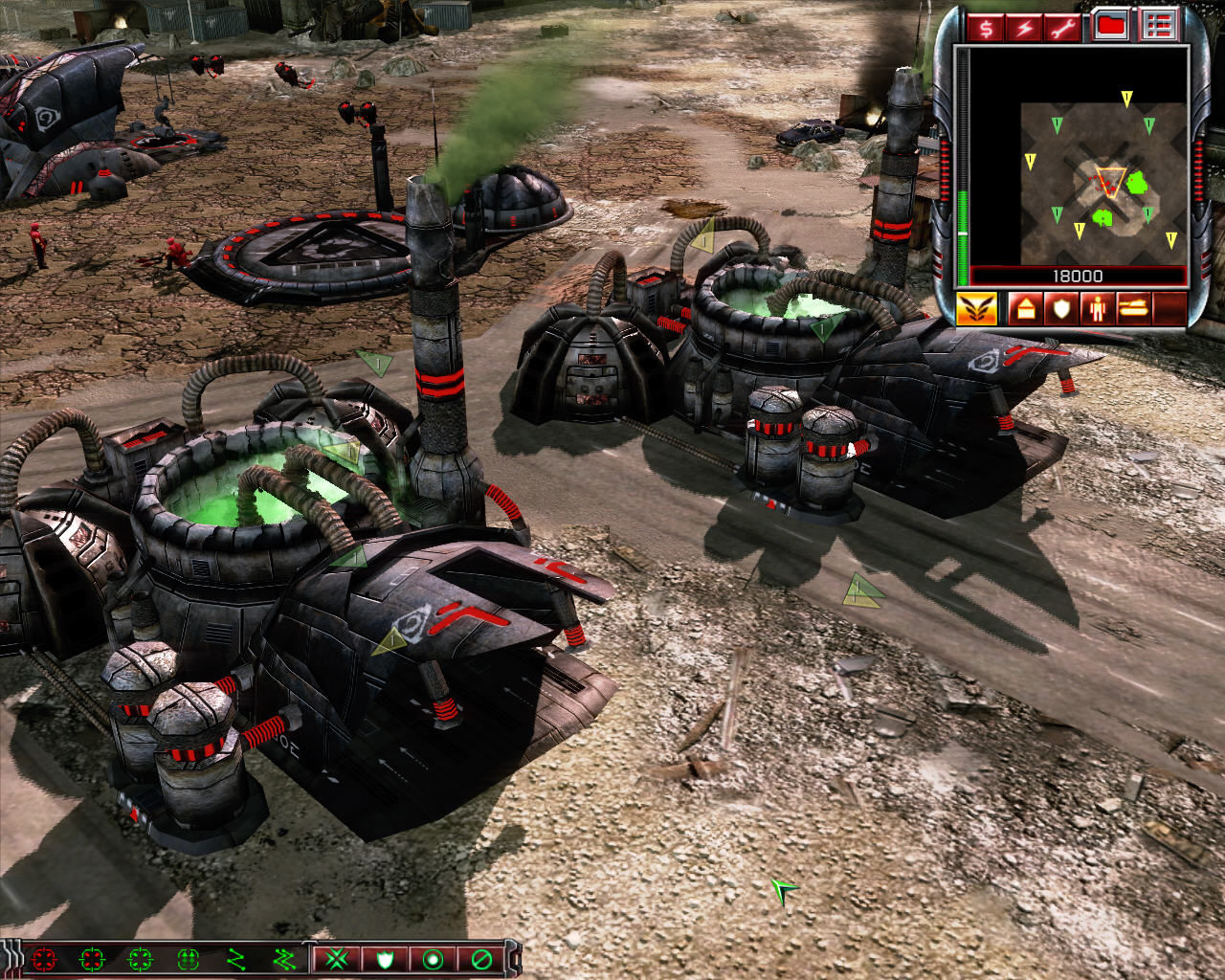 Command & Conquer 3: Kane's Wrath Windows Two nod refineries