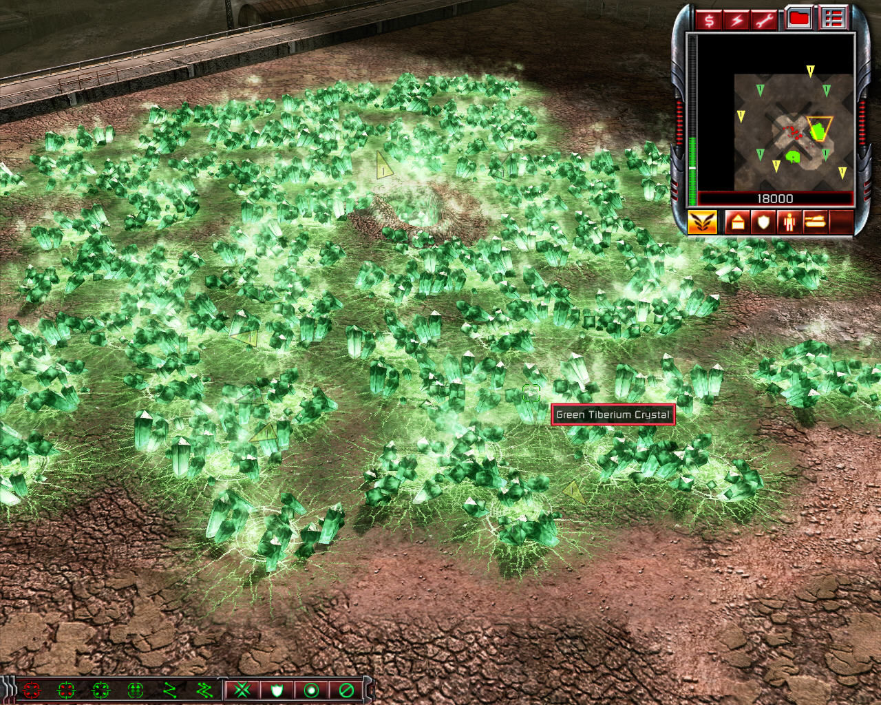 Command & Conquer 3: Kane's Wrath Windows Green tiberium crystals