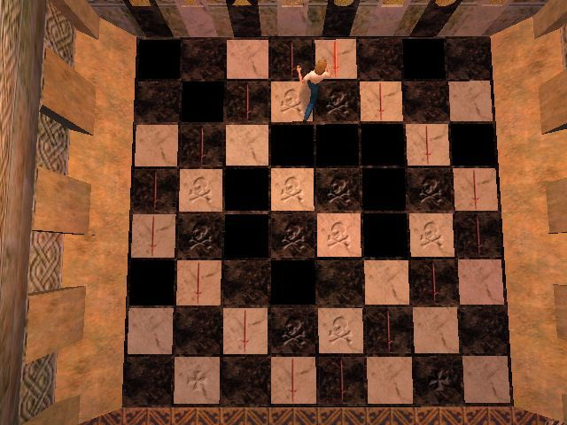 Gabriel Knight 3: Blood of the Sacred, Blood of the Damned Windows Jumping over some chess board could prove to be fatal, but can also open some secret door