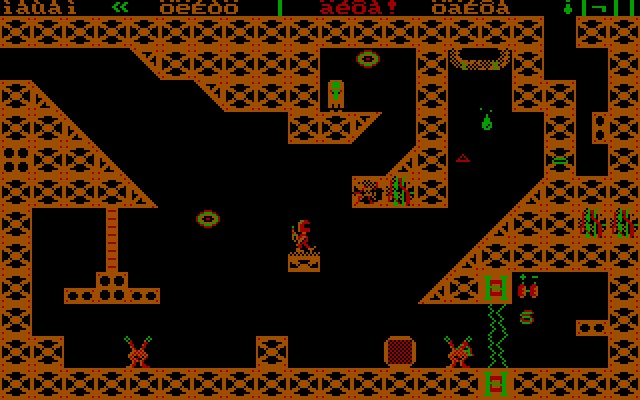 Monuments of Mars DOS deep into mars