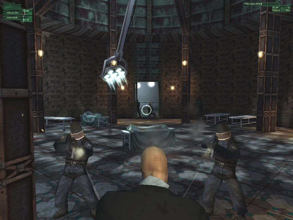 Hitman: Codename 47 Windows Within the sinister Asylum, the Hitman does battle with an aggressive SWAT team determined to put an abrupt end to his career