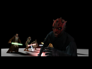 Star Wars: Episode I - Jedi Power Battles PlayStation Darth Maul