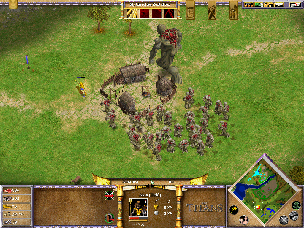 Age of Mythology: The Titans Windows Run Ajax, run!