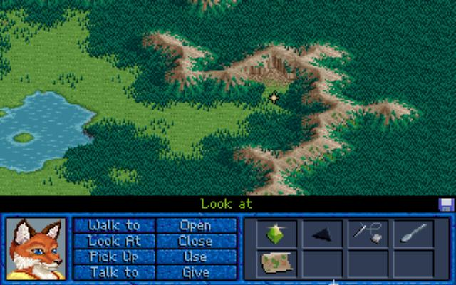 Inherit the Earth: Quest for the Orb DOS The wild lands...