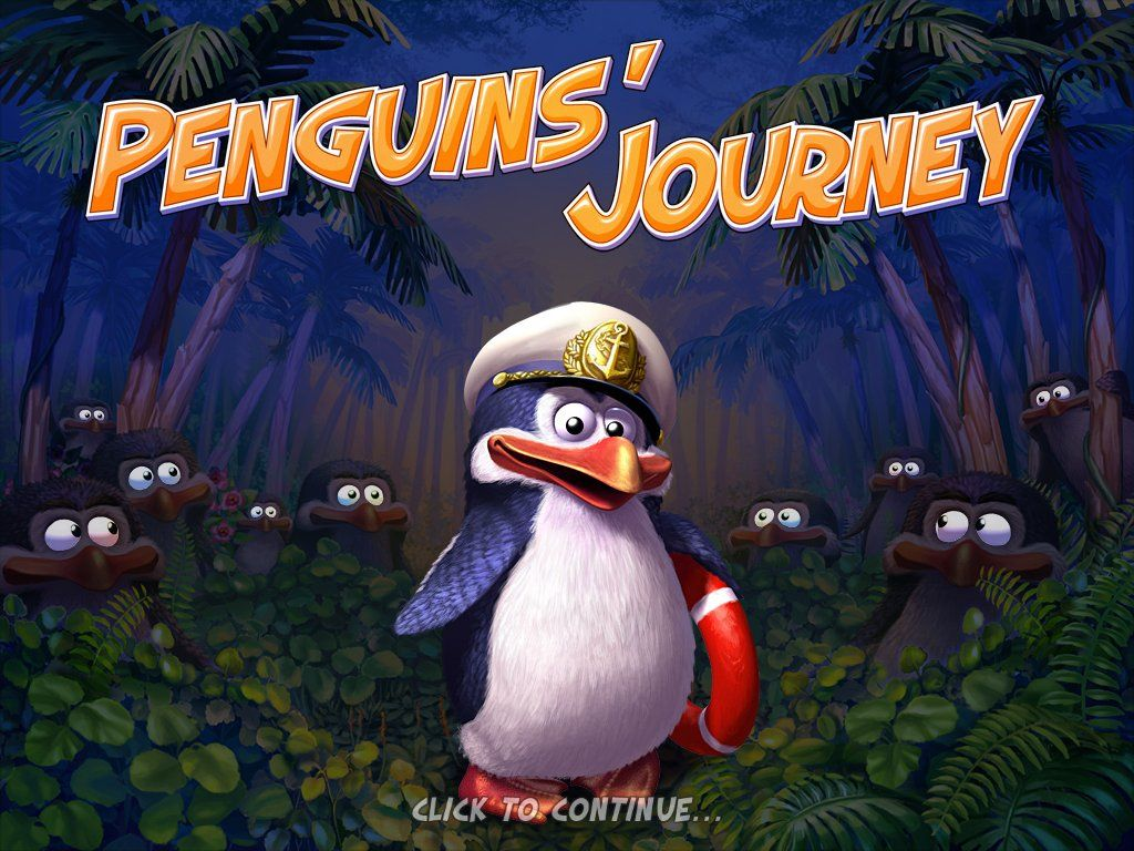 Penguins' Journey Windows Title screen