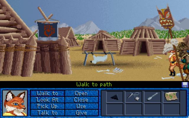 Inherit the Earth: Quest for the Orb DOS Escape captivity