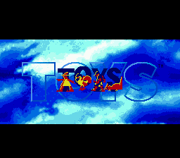 Toys Genesis Title screen