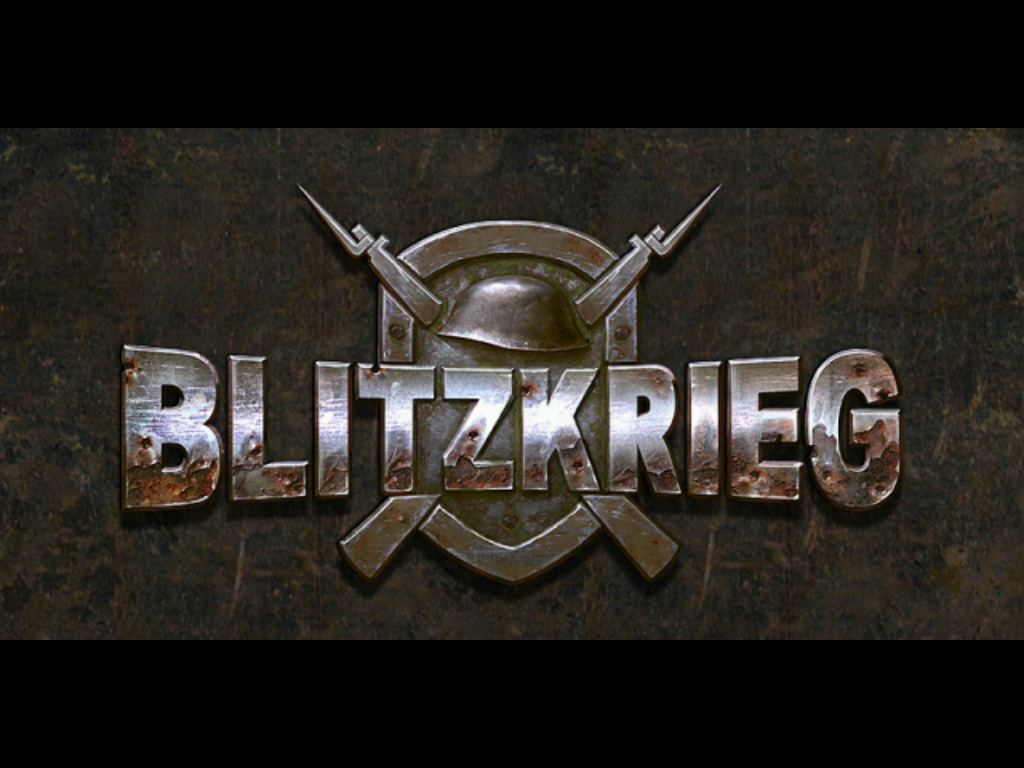 Blitzkrieg Windows Title screen