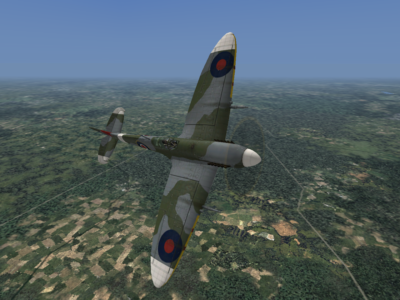 Microsoft Combat Flight Simulator 3: Battle for Europe Windows RAF Supermarine Spitfire XIc