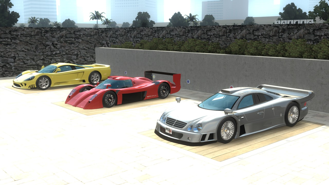 Project Gotham Racing 4 Xbox 360 A small selection of the finest cars you can drive in PGR4.