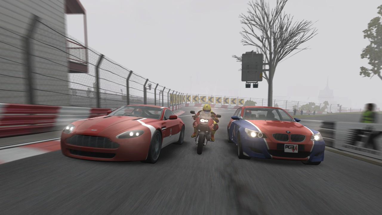Project Gotham Racing 4 Xbox 360 Cars and bikes can race together now!