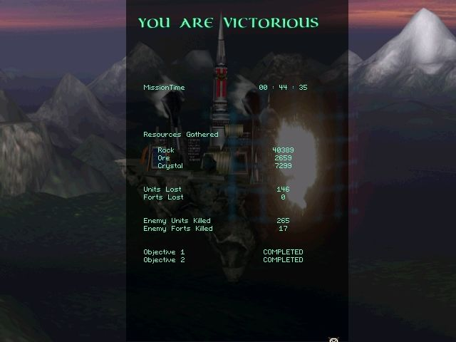 "Stratosphere: Conquest of the Skies Windows Once you do overcome the 17 to 1 odds, remember that ""Mission Time"" doesn't include the countless reloads."