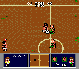 Nintendo World Cup Genesis Match two, different field