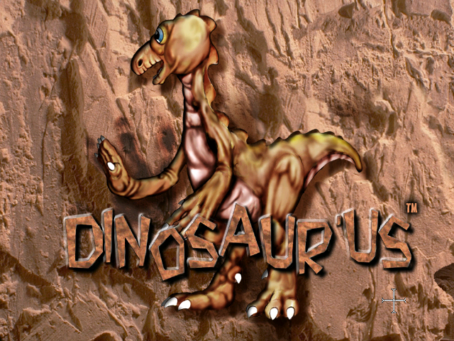 Dinosaur'Us Windows Title screen