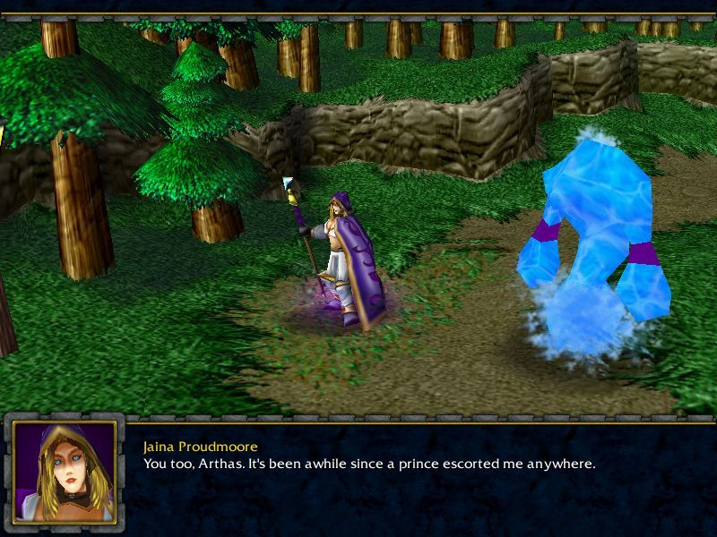 Warcraft III: Reign of Chaos (Collector's Edition) Windows And it wouldn't be a game if we wouldn't have a heroine, too.