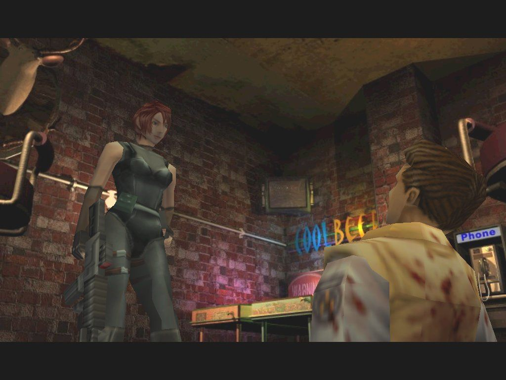 Resident Evil 3: Nemesis Windows I had no idea Jill was into costume play... here she is dressed as Regina from Dino Crisis