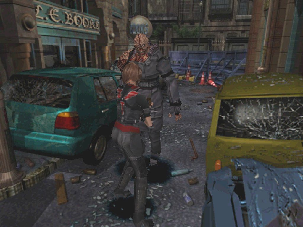 Resident Evil 3: Nemesis Windows Jill encounters Nemesis, the bio-weapon so bad they named the game after him