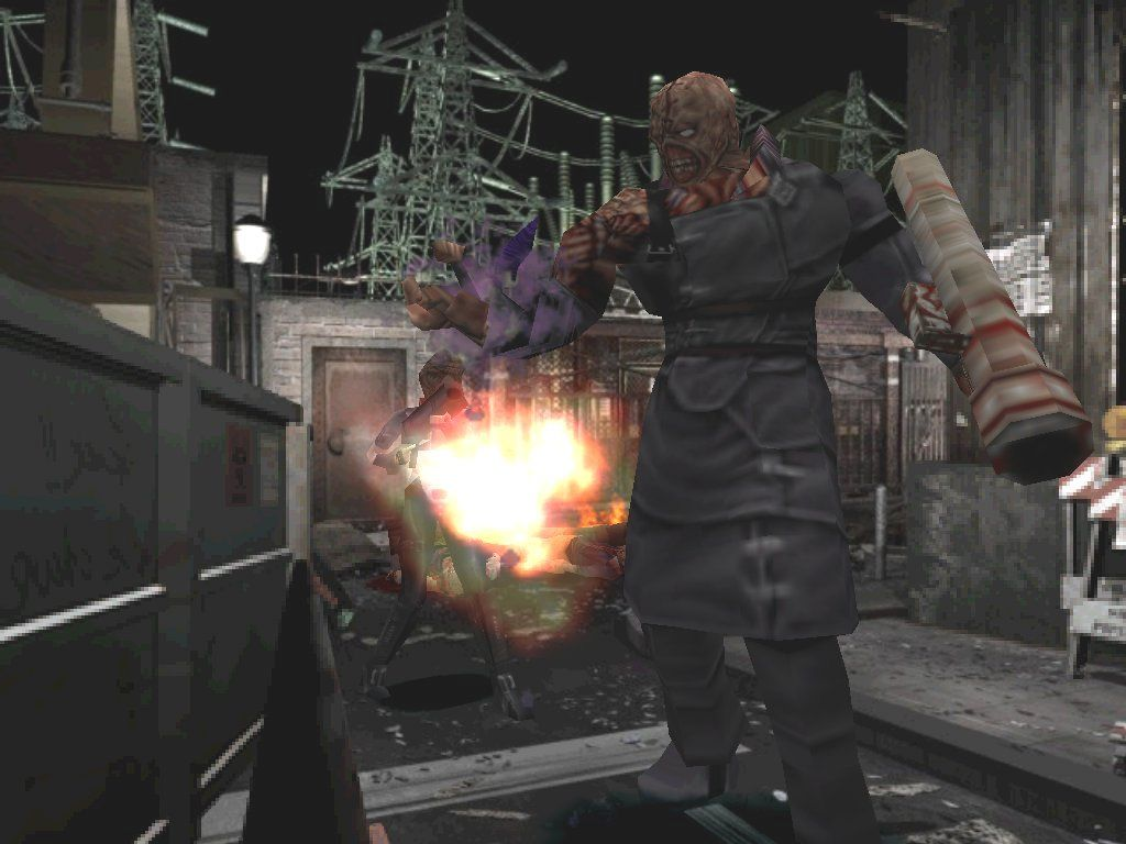 Resident Evil 3: Nemesis Windows Even if Nemesis won't respect your authority, he has to respect your grenade launcher
