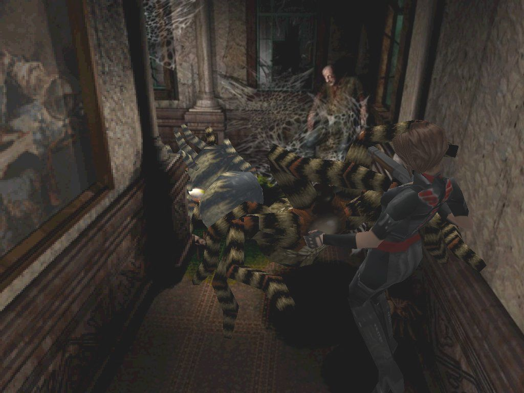 Resident Evil 3: Nemesis Windows The giant spiders from the previous two games return... get back you eight legged freaks!