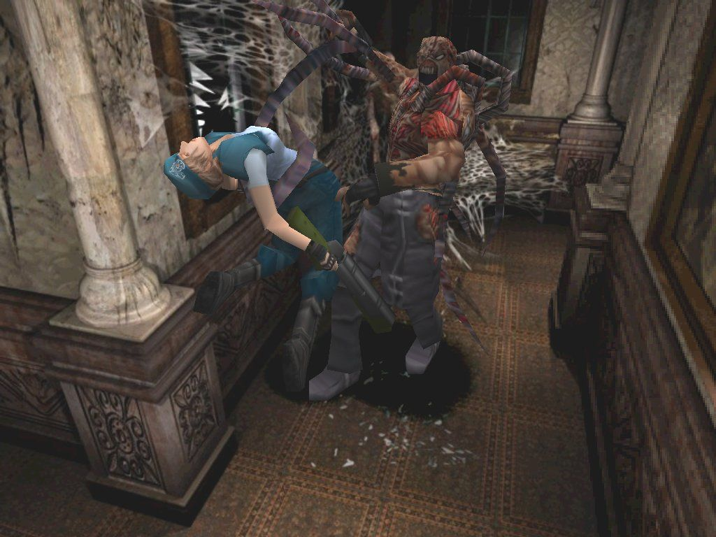 Resident Evil 3: Nemesis Windows Nemesis is gonna make you his Yo-Yo