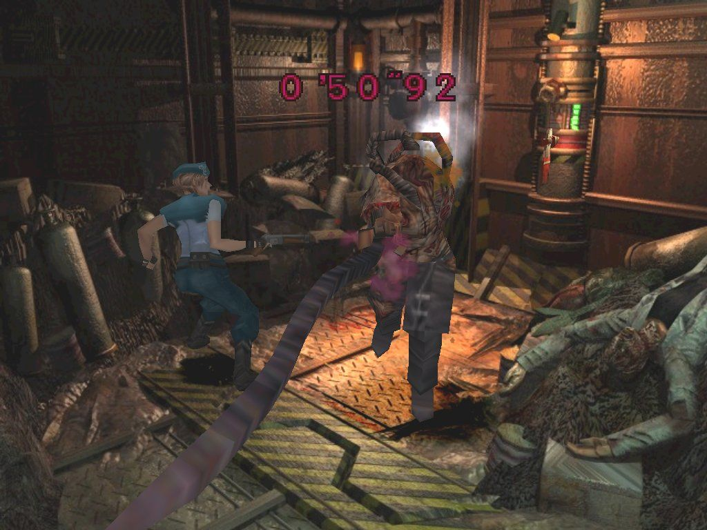 Resident Evil 3: Nemesis Windows More persistant that Richard Simmons, Nemesis fights on despite having no head and only one arm