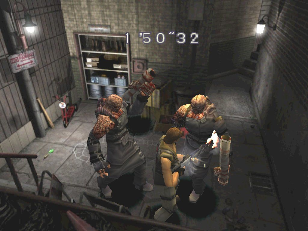 Resident Evil 3: Nemesis Windows Mercenaries Mini-game: The only thing worse than an unstoppable STARS killer is TWO unstoppable STARS killers