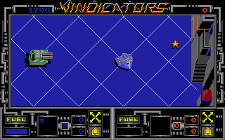 Vindicators Atari ST Zone one, level one