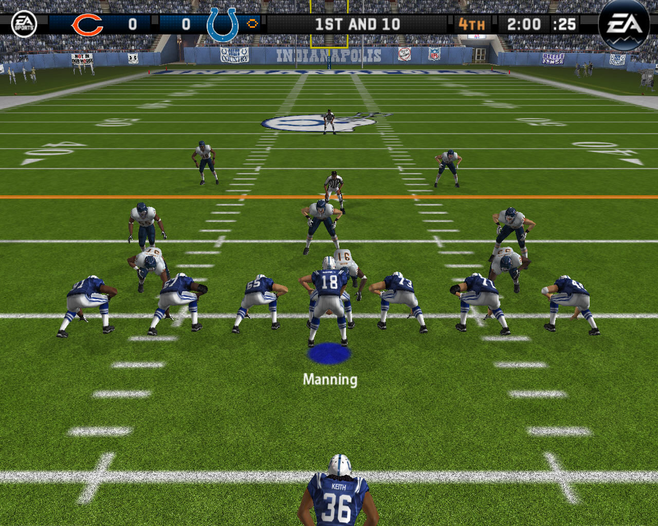 Madden NFL 08 Windows Two minute drill