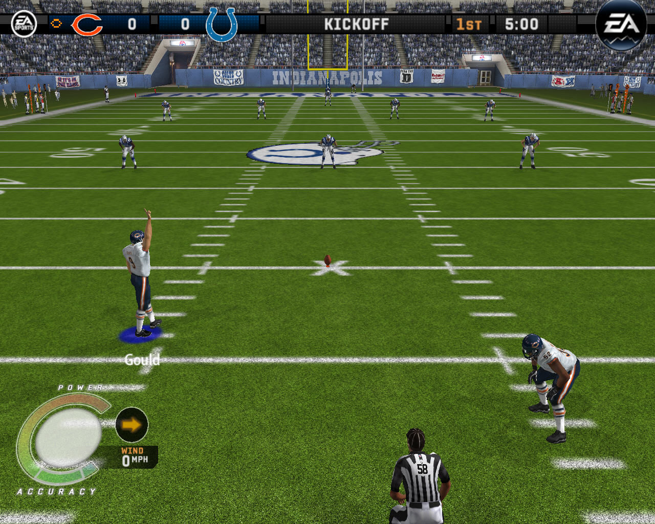 Madden NFL 08 Windows Opening kick off