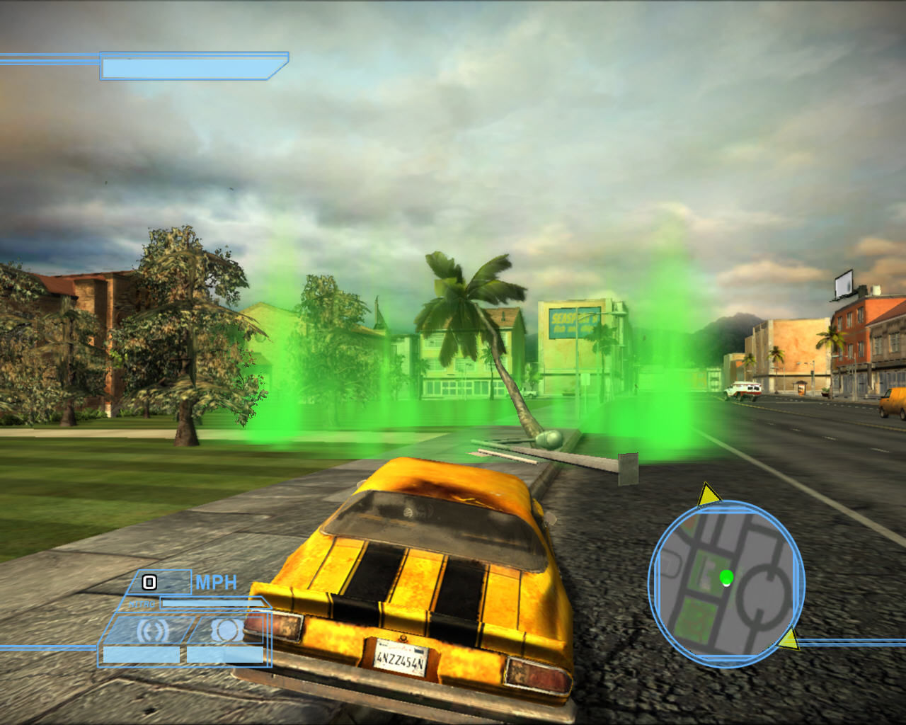 Transformers: The Game Windows Enter green area and mission will begin