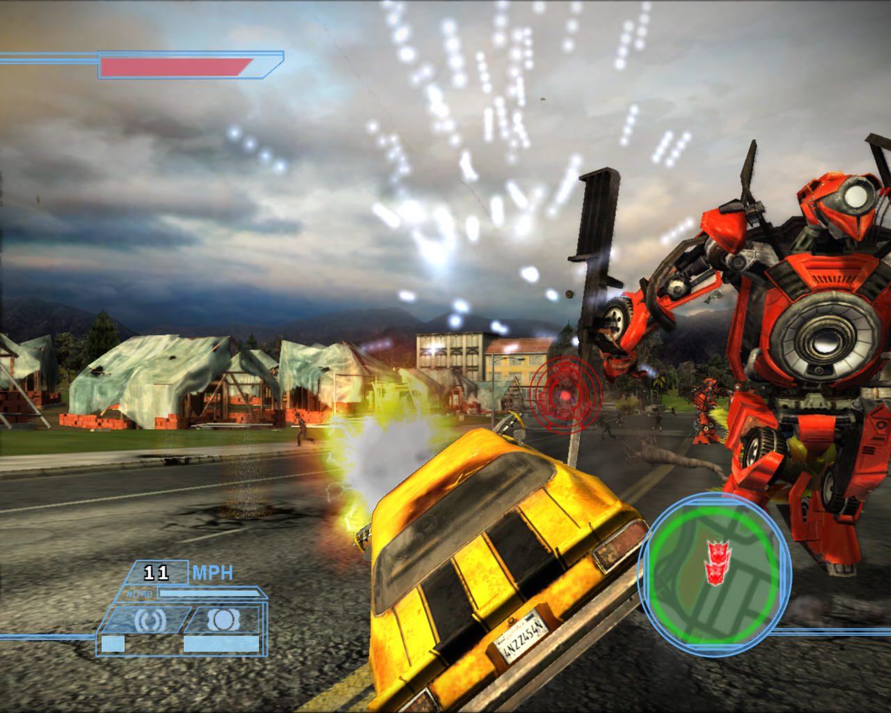 Transformers: The Game Windows Under attack