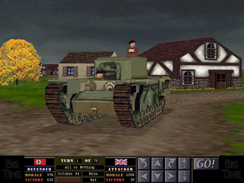 Combat Mission: Beyond Overlord Windows Winston Churchill's Tank Mission