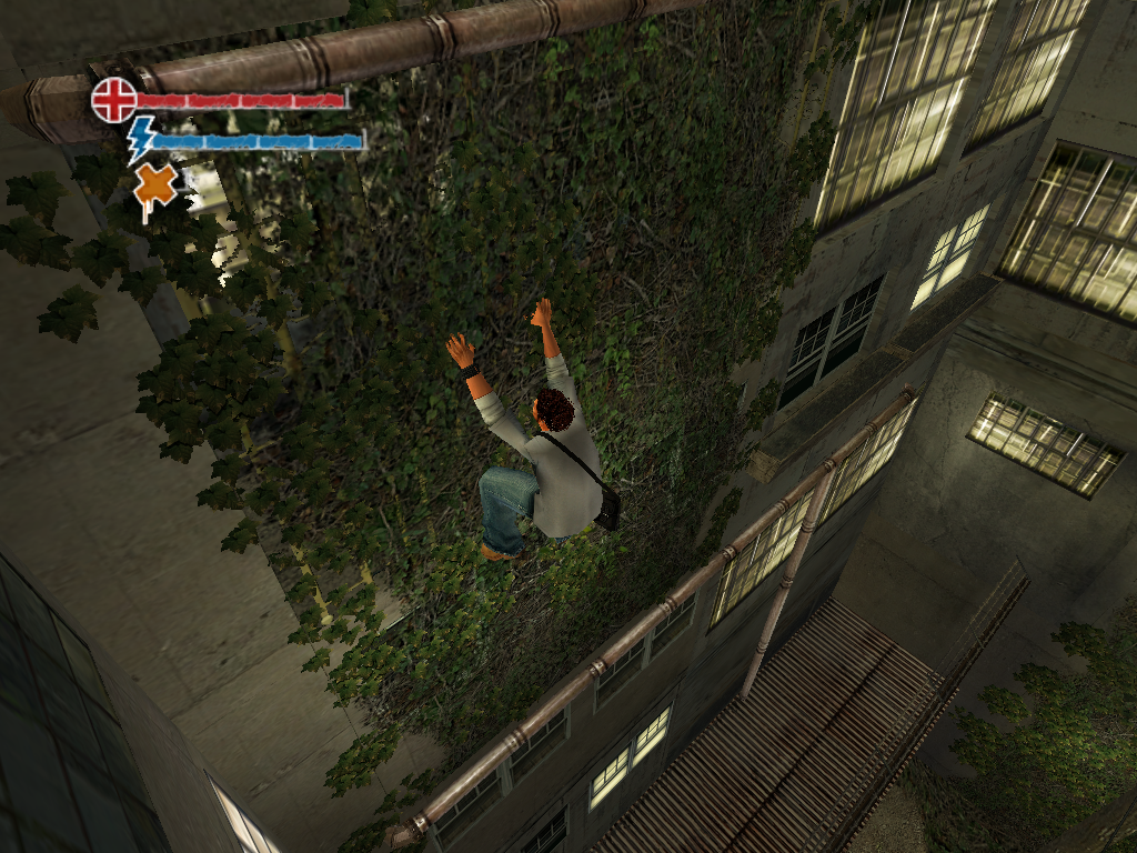 Marc Ecko's Getting Up: Contents Under Pressure Windows You can also climb vines and chain link fences.