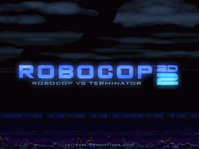 Robocop 2D 2: Robocop vs Terminator Windows Title screen