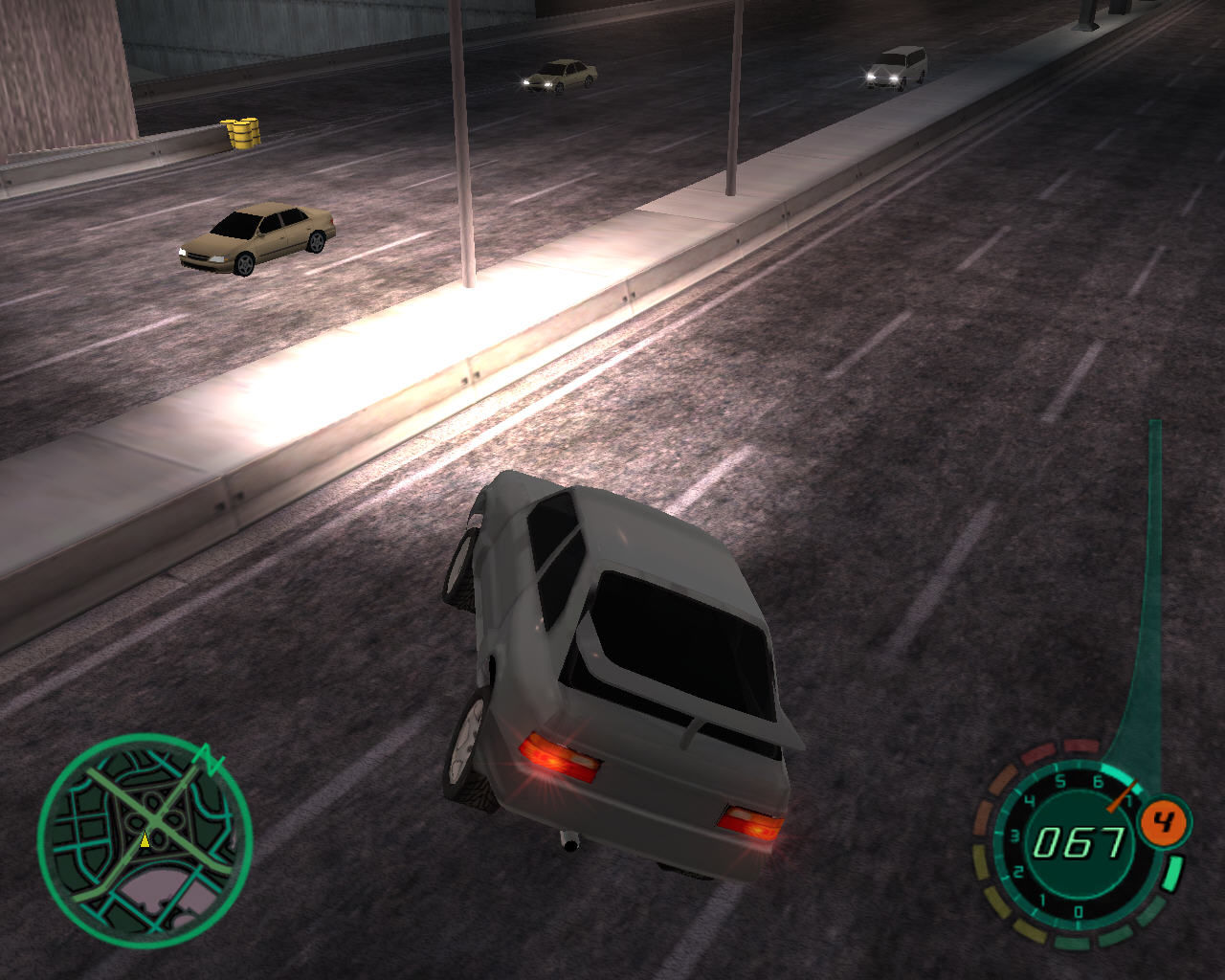 Midnight Club II Windows Jumping from high above