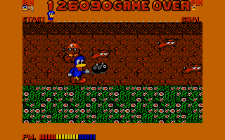 Dynamite Düx Atari ST At the beginning of level two