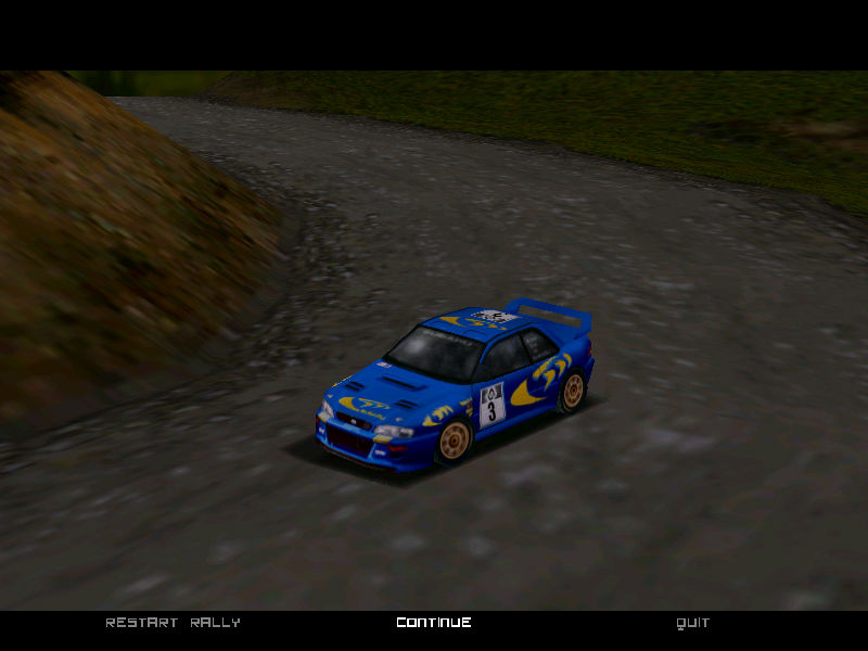 Colin McRae Rally Windows Replay mode