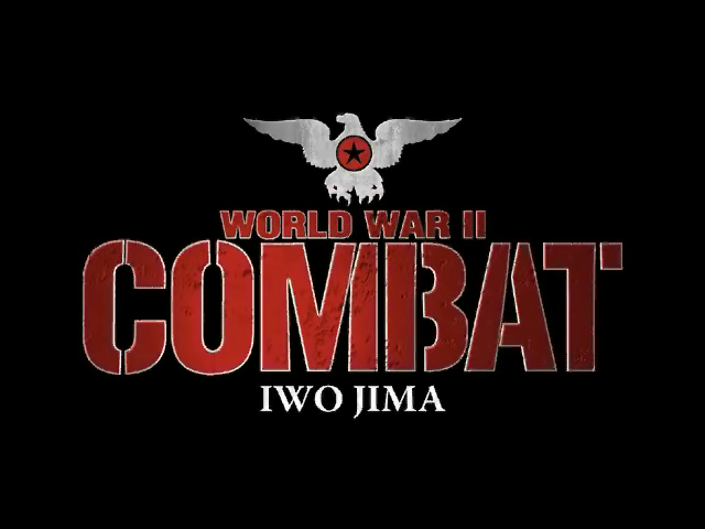 World War II Combat: Iwo Jima Windows Title screen